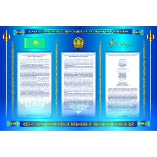 Стенд без объемных элементов (синий)